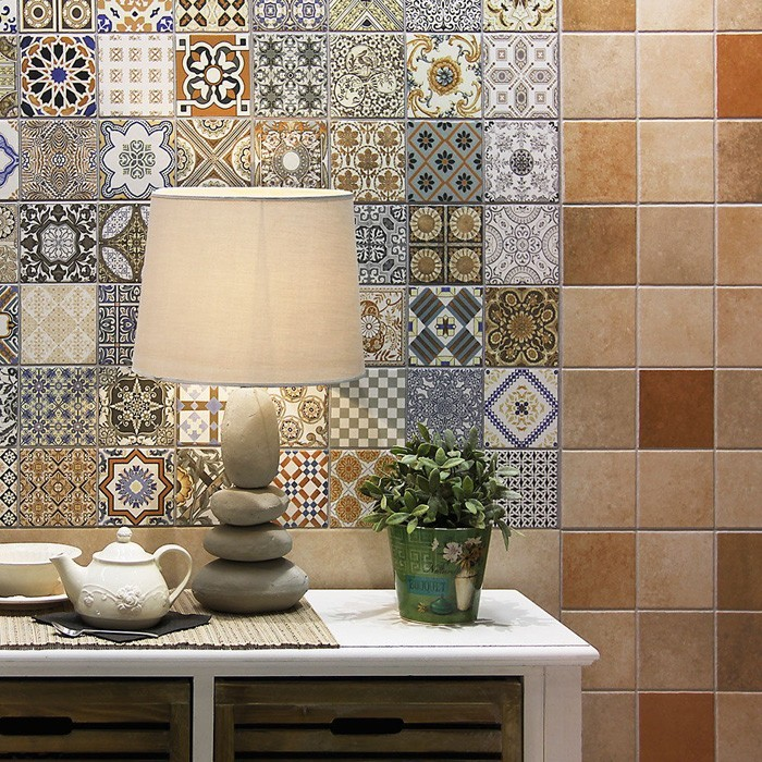 marokkanische fliesen zementfliesen interirdesign ideen wohnung design anders denken mosaik fliesen kreative wandgestaltung fragment