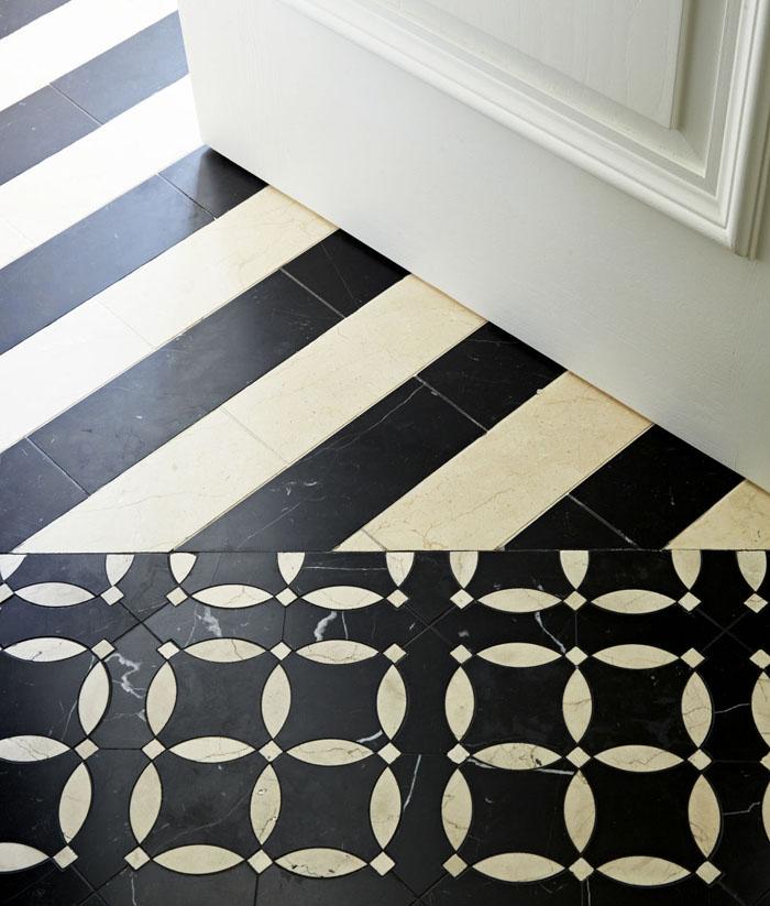 marokkanische fliesen zementfliesen interirdesign ideen wohnung design anders denken mosaik fliesen kreative wandgestaltung modern
