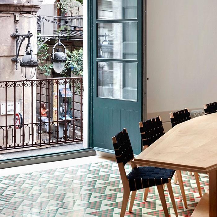 marokkanische fliesen zementfliesen interirdesign ideen wohnung design anders denken mosaik fliesen kreative wandgestaltung terrasse