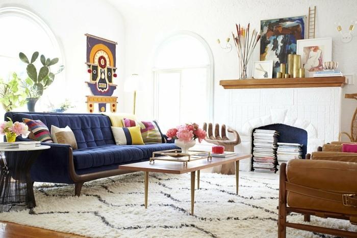 einrichtungstipps mit leder die neusten tendenzen 2017. Black Bedroom Furniture Sets. Home Design Ideas