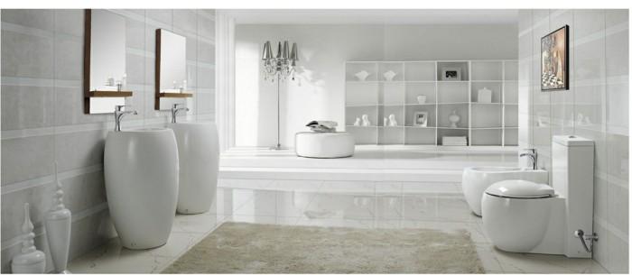 modern stilvoll badezimmer