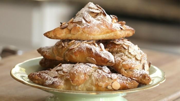 nussarten croissant mandeln