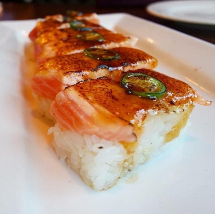 oshi sushi zuberen und essen