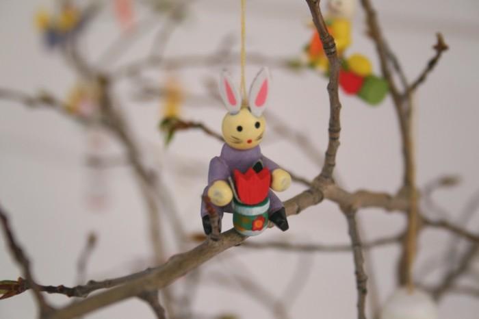 osterbaum und die passenden kreative anhaenger