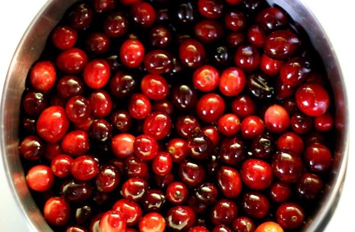ostereier bemalen diy ideen natürliche farben von den pflanzen cranberries