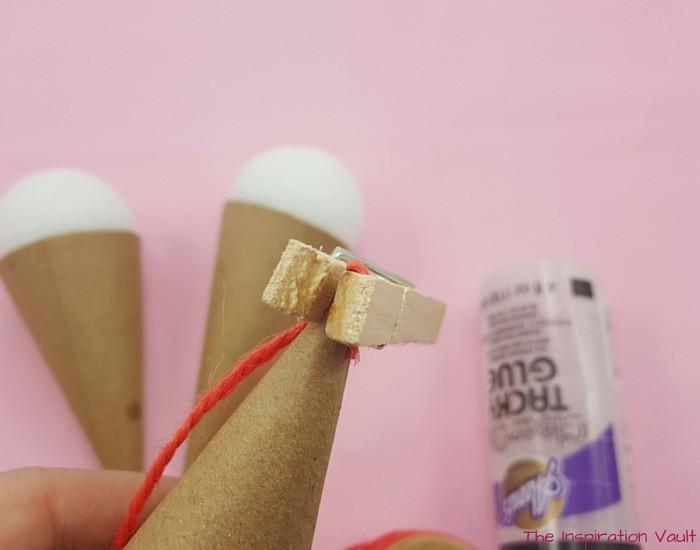 papptrichter deko ideen basteln mit naturmaterialien quelle angabe original making of 2