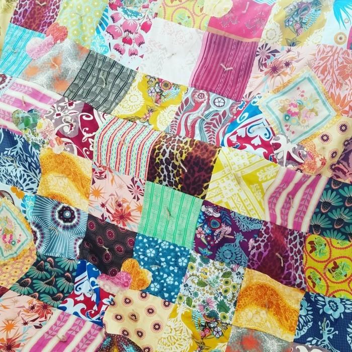 patchwork ist ein hauptelement des boho stils
