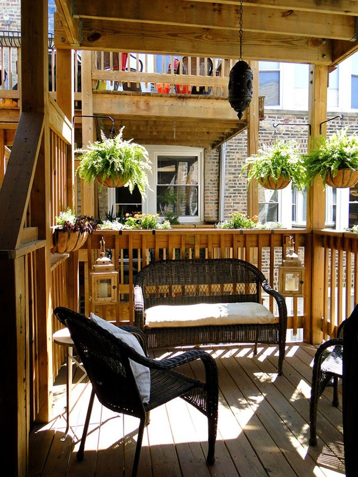 77 coole ideen f r platzsparende m bel womit sie kokett for Cute apartment balcony ideas