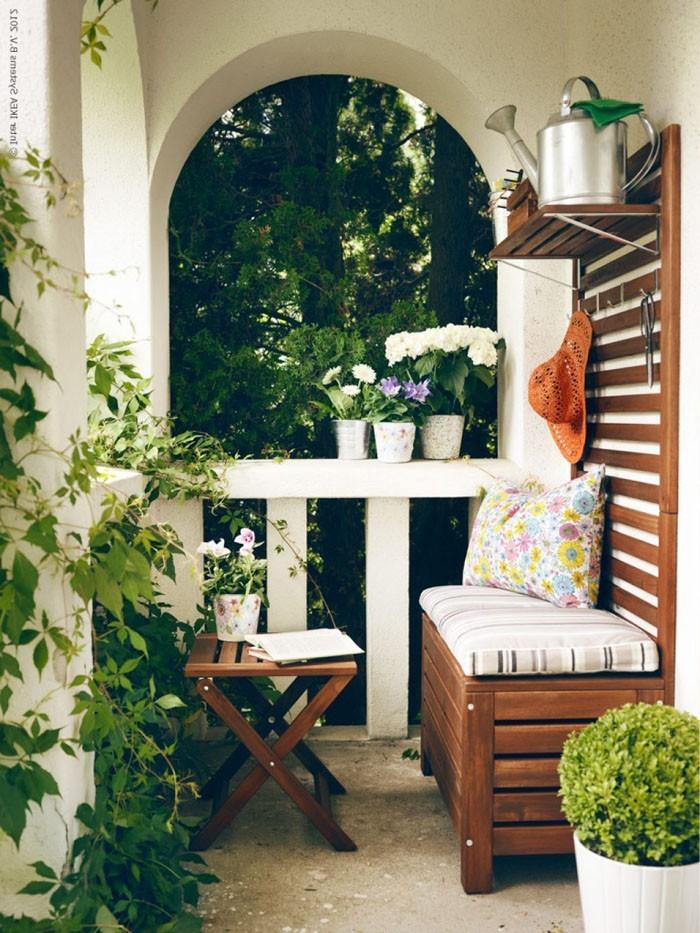 platzsparende moebel kleinen balkon gestalten coole ideen garten