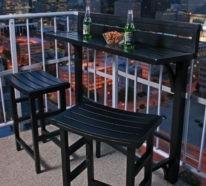 Design#5001755: ▷über 1000 balkonmöbel - gartenmöbel aus polyrattan, lounge möbel .... Balkon Gestalten 77 Ideen Lounge