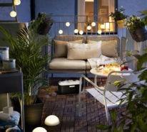 77 coole Ideen für platzsparende Möbel, womit Sie kokett den kleinen Balkon gestalten
