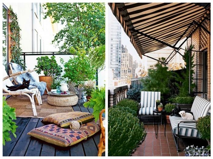 platzsparende moebel kleinen balkon gestalten gartenideen