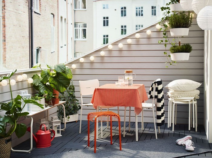 platzsparende moebel kleinen balkon gestalten kreative gartenideen 2