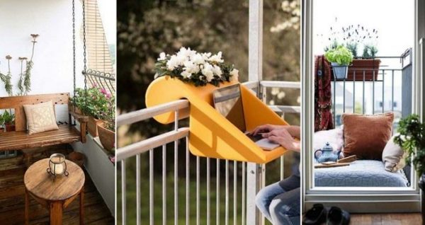 ber 50 kreative einrichtungsideen zur balkongestaltung im sommer. Black Bedroom Furniture Sets. Home Design Ideas