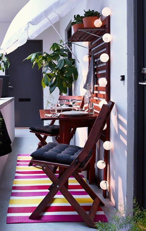 balkon ideen balkongestaltung platzsparende moebel praktische ideen raumnutzung