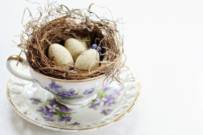 porzellan geschirr vintage ostereier dekoration