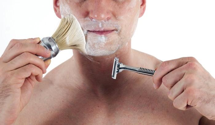 rasierschaum selber machen man beim rasieren