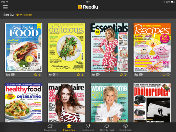readly magazine flatrate app zeitschriften lesen online