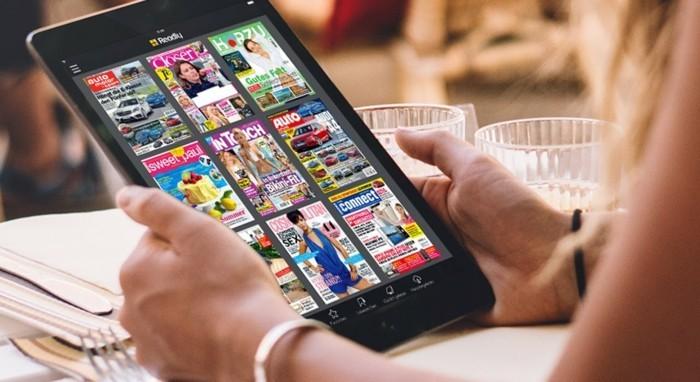 readly magazine online lesen mit app