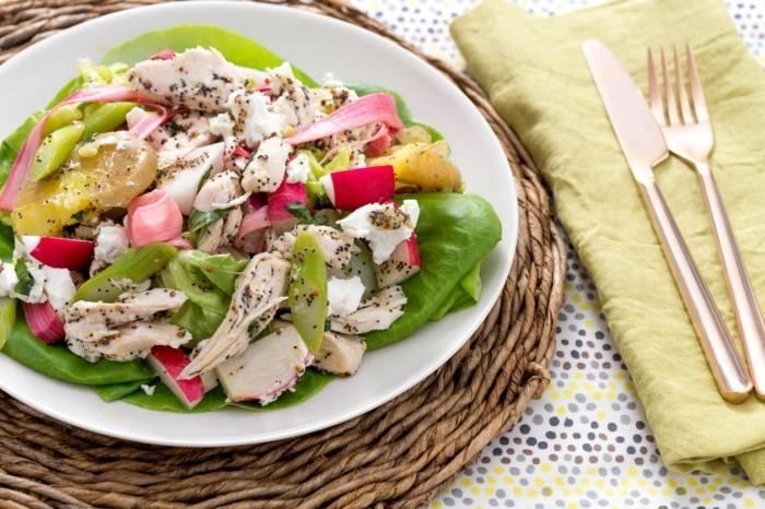 rhabarber gesund konsumieren frische salate