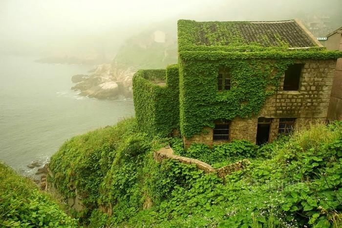 schöne reiseziele gouqi grüne häuser