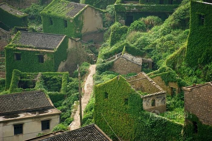 schöne reiseziele gouqi verlassenes dorf wunderschöne häuser