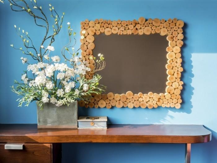 spiegel verzieren 22 kreative ideen wie sie ihrem wohnbereich mehr individualit t verleihen. Black Bedroom Furniture Sets. Home Design Ideas