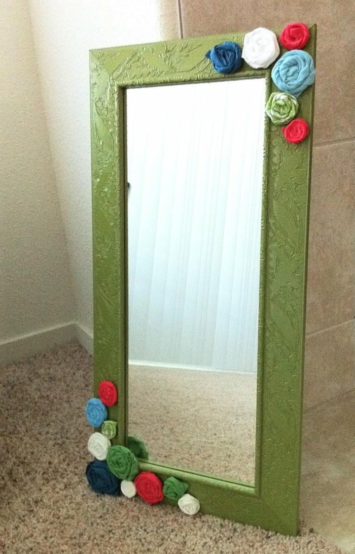 spiegel-verzieren-kreative-ideen-blumen