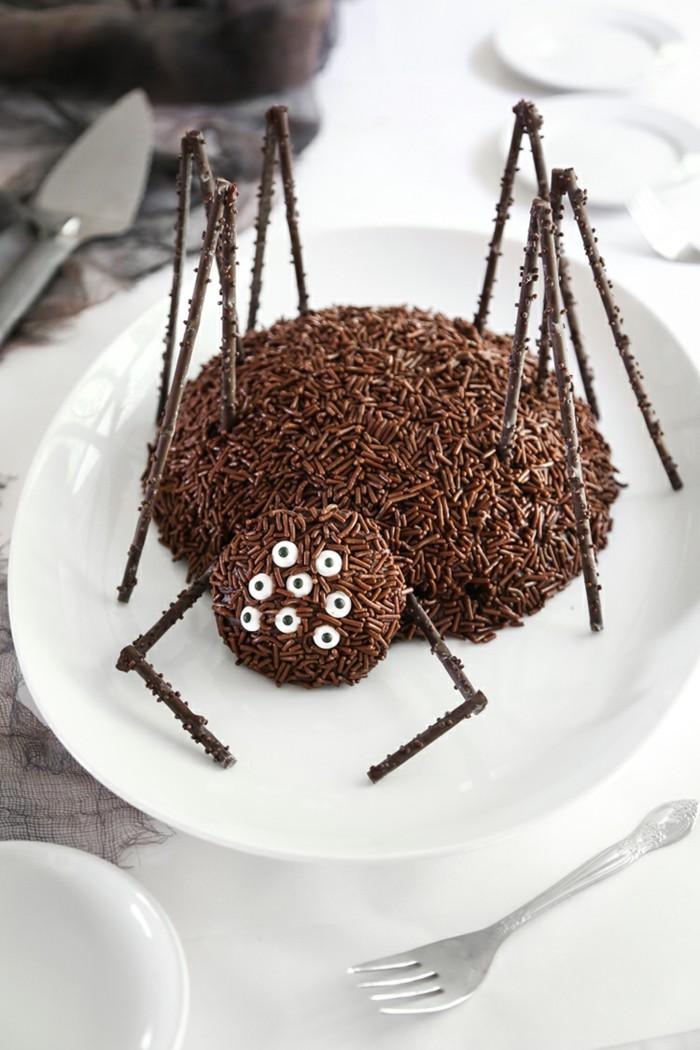 spinnen kuchen