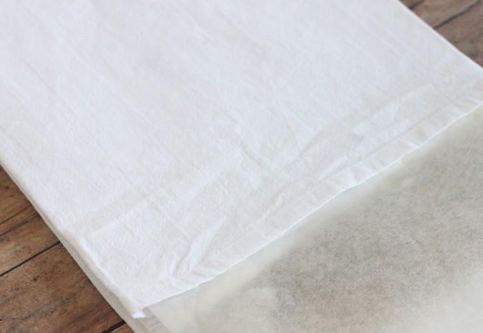 stempel selber machen rosenkohl blumen muster t shirt birnemaking of nachmalen mit textilstift harte unterlage unterlegen