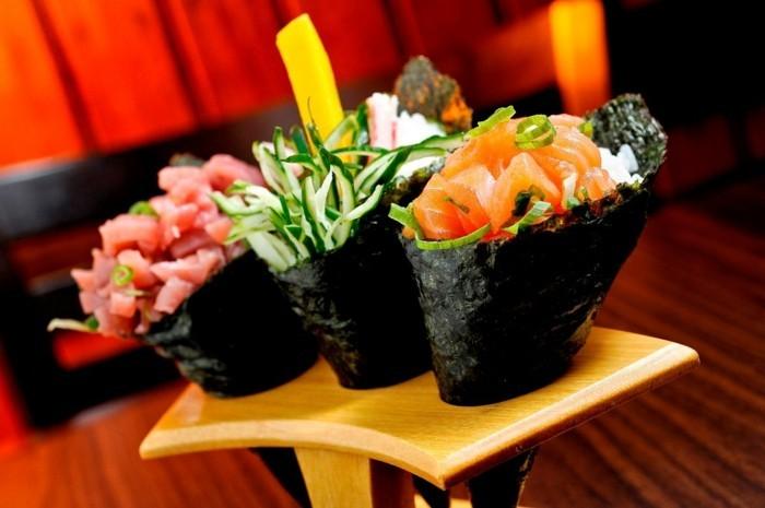 temaki sushi zutaten