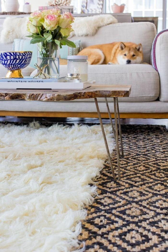teppich verlegen einrichtungsideen für das wohnzimmer