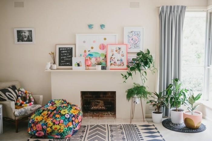teppich verlegen farbige muster ins interieur setzen