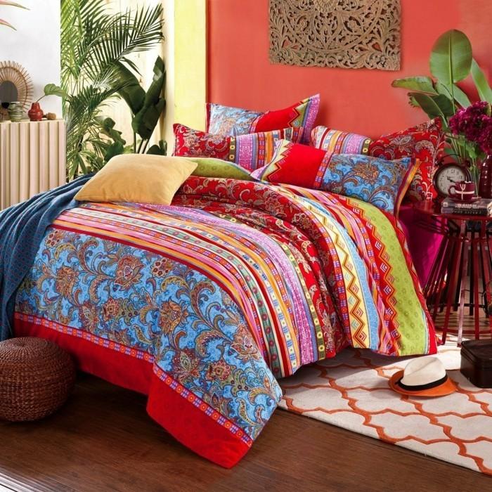 textilien in boho stil