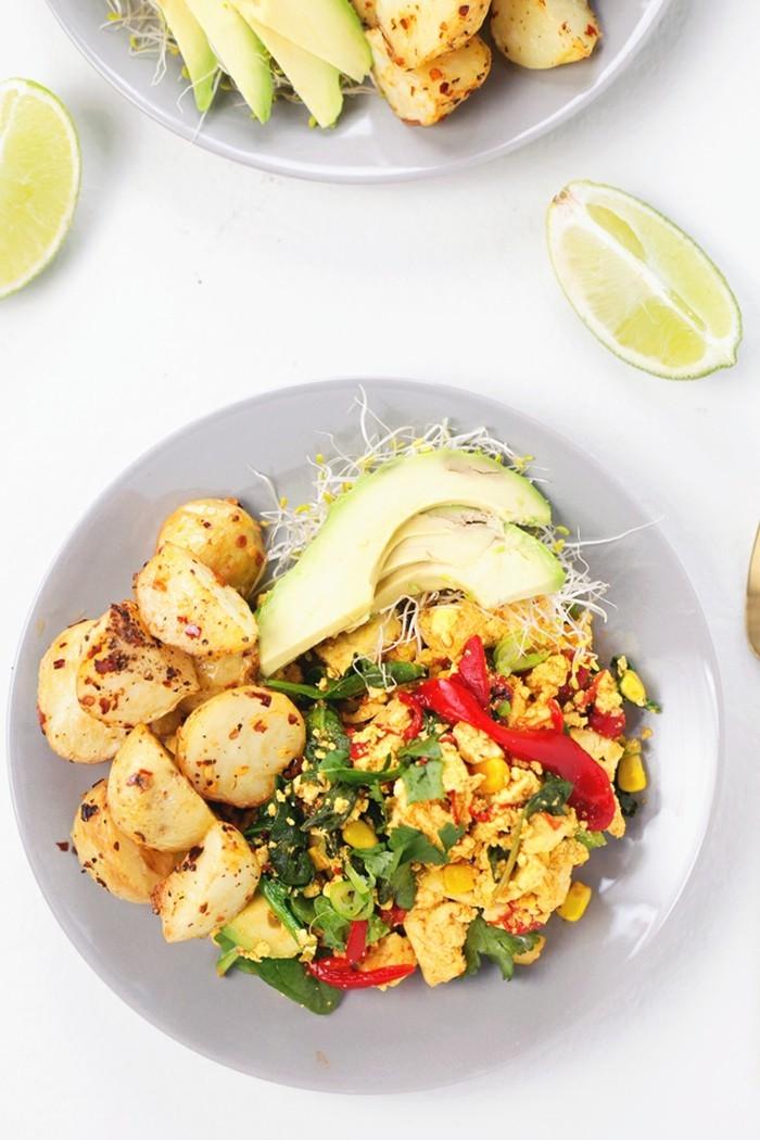 tofu laesst sich mit kartoffeln gut kombinieren
