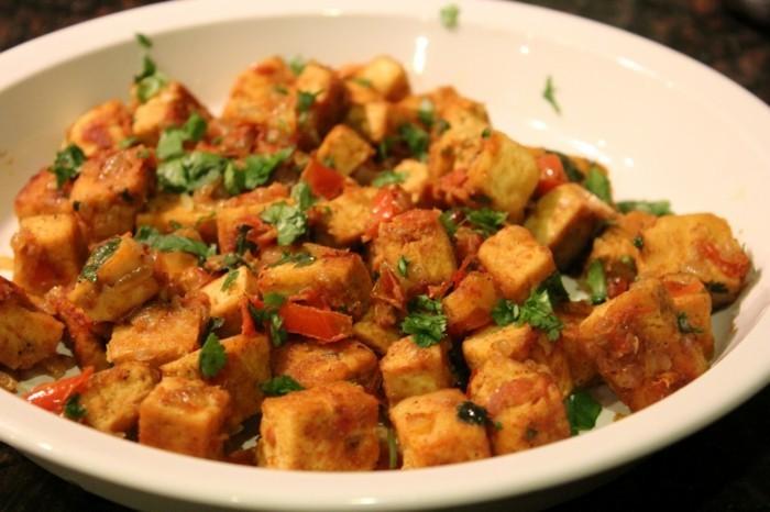 tofu naehrwerte tofu mit curry indischer art