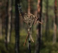 Traumfänger basteln mit Naturmaterialien- wir zeigen wie´s geht