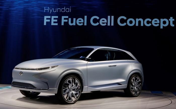 umweltfreundliche autos Techrules Ren keine verschmutzung hyundai wasserstoff zellen