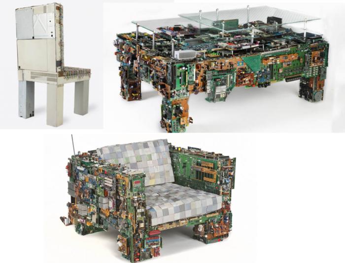 upcycling möbel aus alten computer teilen selber bauen