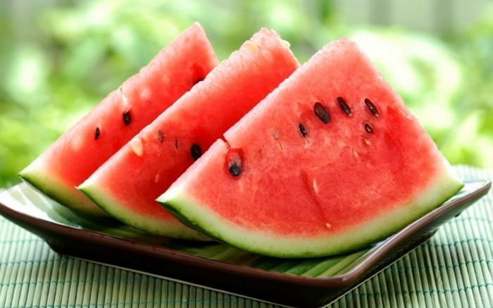 wassermelone vegan abnehmen gesund obst früchte gesunde ernährung