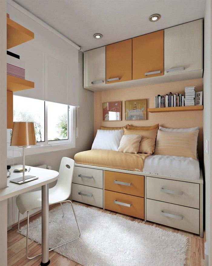 schlafzimmer einrichten - 6 praktische tipps für die gestaltung ... - Vergroserung Kleiner Schlafzimmer