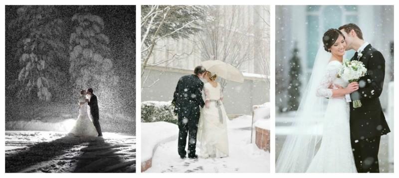 winterhochzeit hochzeitsfotos ideen brautpaar