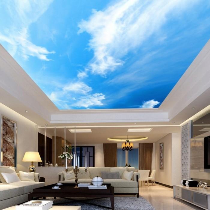Wohnzimmer Gestaltung Räumliches Sehen U2013 33 Schlaue Ideen Für Die Wand  Und  Bodengestaltung | Einrichtungsideen ...