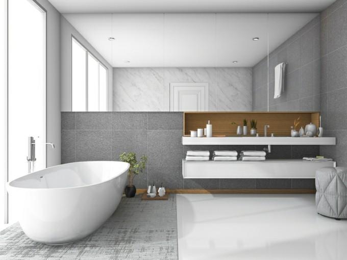 luxusbad einrichten ideen