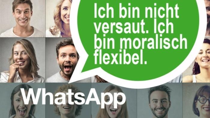 Coole Statussprüche für Whatsapp mit Bildern fuer collage20