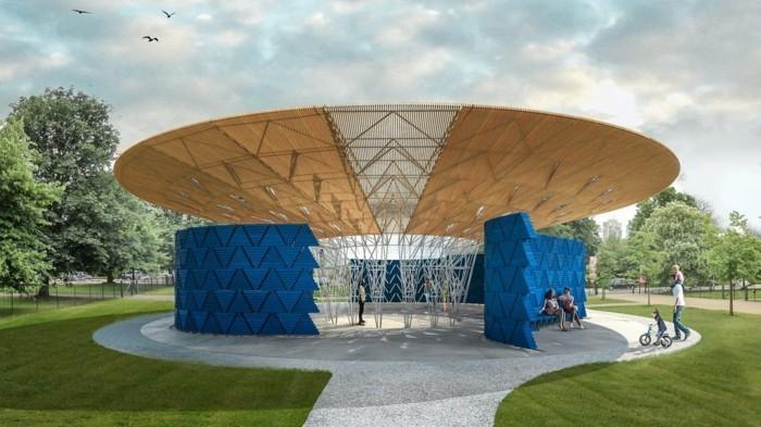 Serpentine Pavilion von francis kere