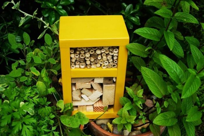 bauanleitung insektenhotel beispiele und bilder