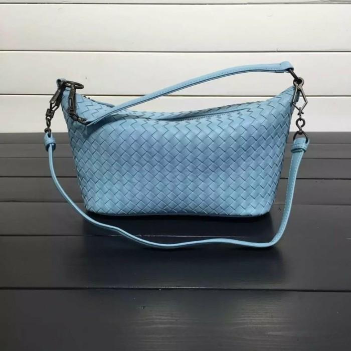 blaue business handtasche universell