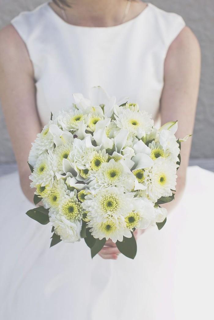 blumenstrauß vintage chrysantemen
