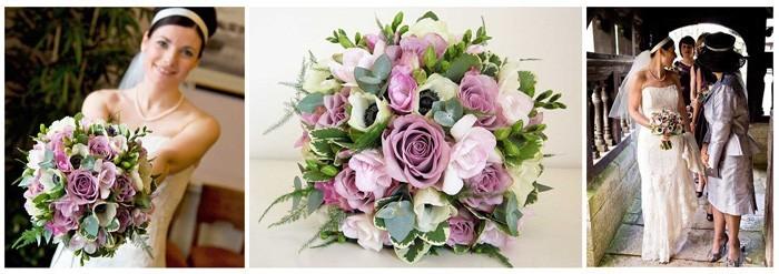 blumenstrauß vintage rosen anemone bidermeier form3